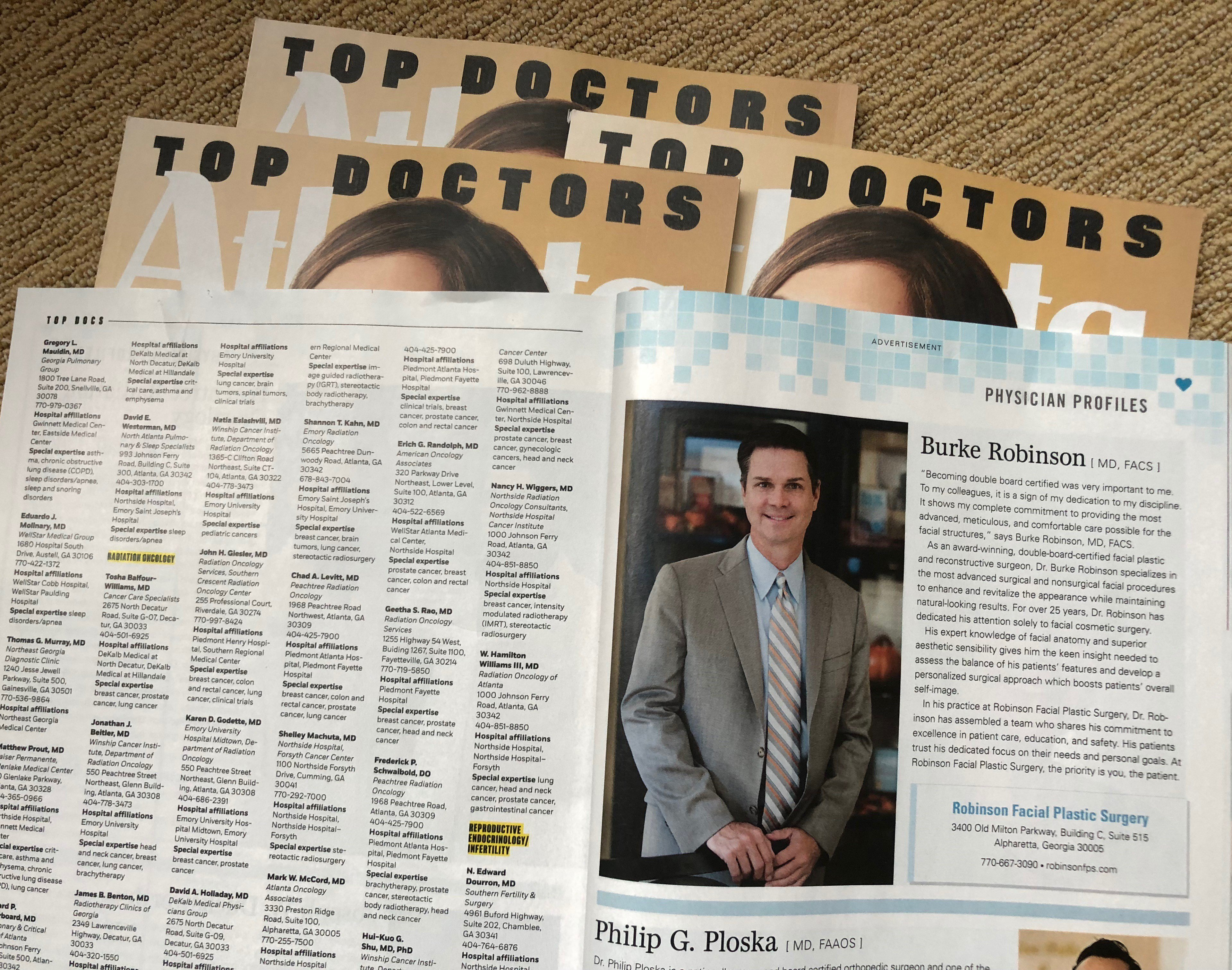 Atlanta Magazine Top Doctor 2018-1