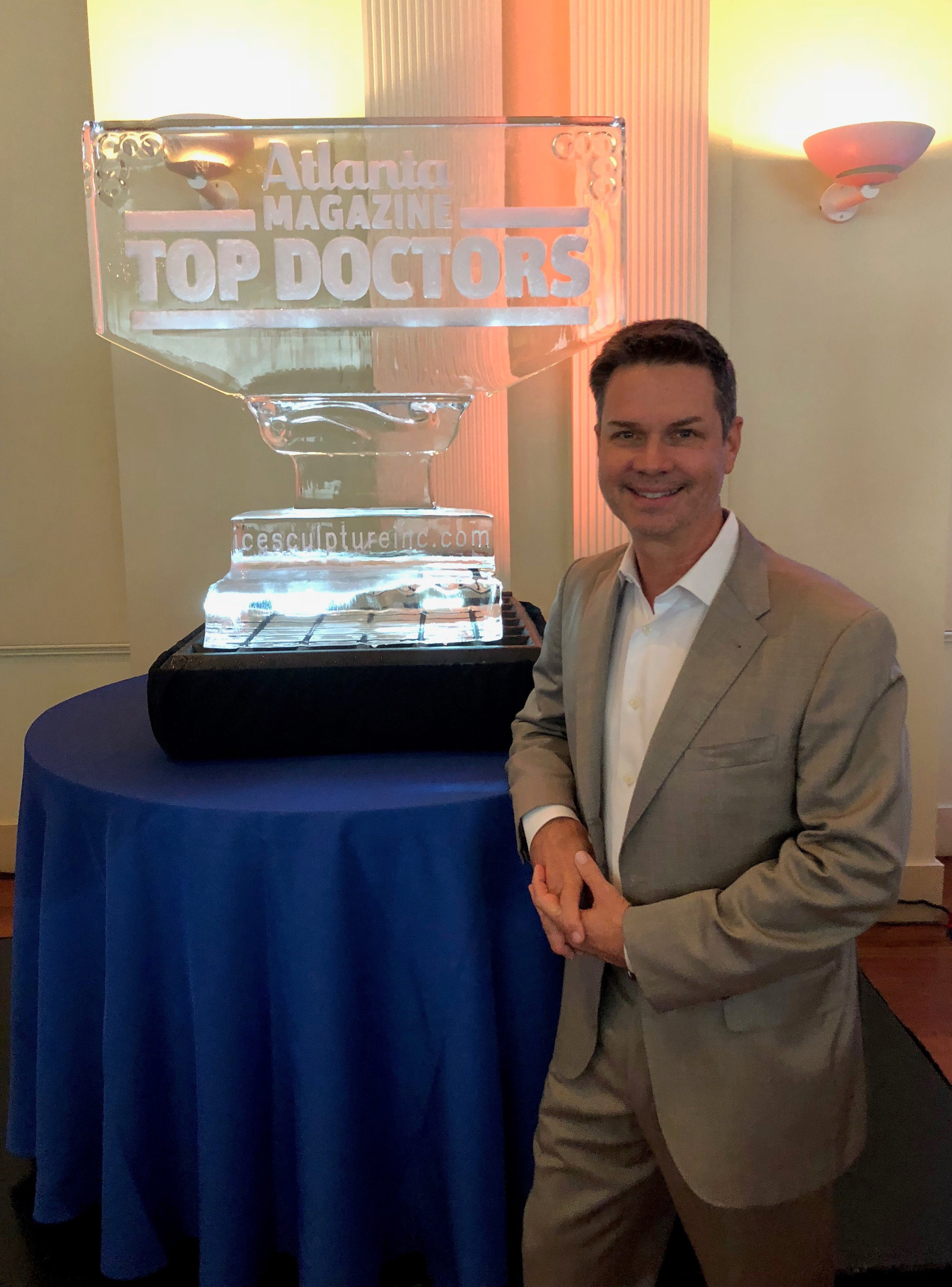 Atlanta Magazine Top Doctors Dr. Burke Robinson