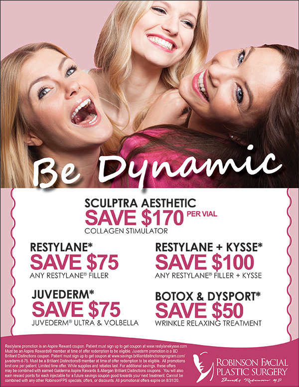August Injectable Specials