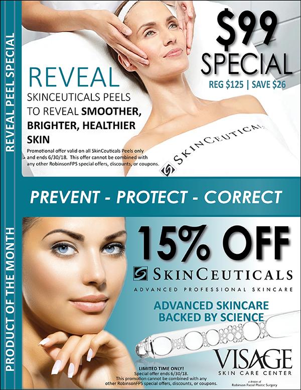 June-Visage-SkinCeuticals-Peel Product Special