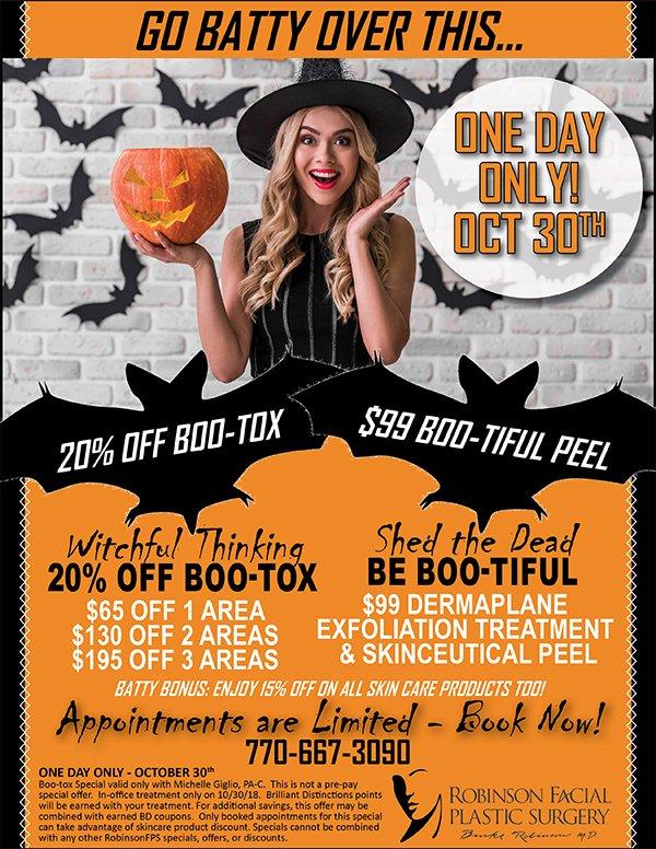 October-BOOtox-PeelSpecial