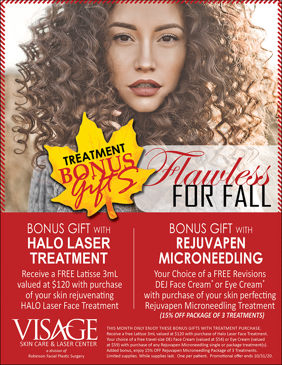 October Flawless for Fall- Visage Specials