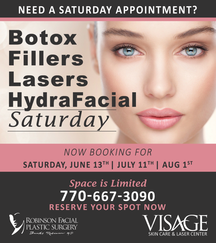 Saturday Injectable Day