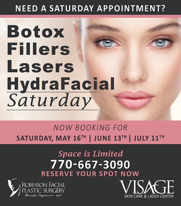 Saturday Injectable Day- May June July 2020