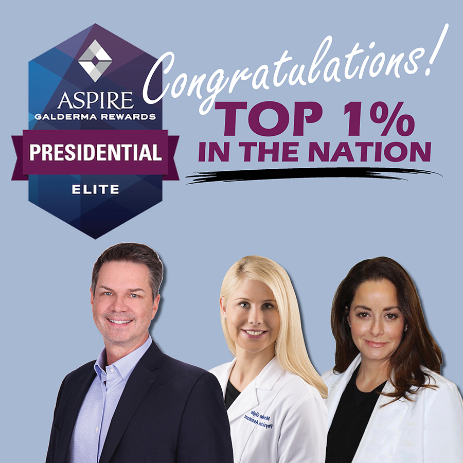 Top 1% Injectables in the Nation - Galderma Elite