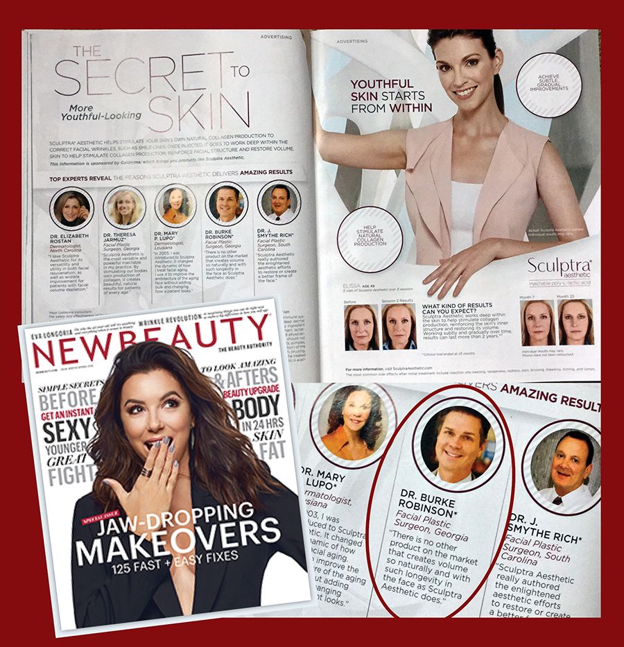 New Beauty Magazine Feature Dr. Robinson